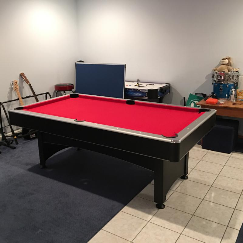 Projects Help With Assembly Helping Put The Things In Your Life - How to put a pool table together